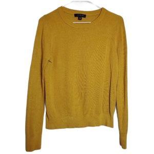Ann Taylor Ribbed Sweater Silk Blend